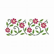 stencil fiori stilizzati steria stencil fiori stilizzati vernici shabby vintage