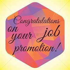 Congratulations On Promotion Congratulation Job Promotion Wish Vector Image 1827617