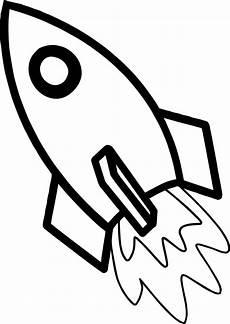malvorlagen rakete weltraum kostenlos