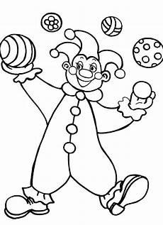 ausmalbilder malvorlagen clown kostenlos zum ausdrucken