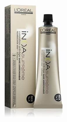 loreal supreme l or 233 al professionnel inoa supreme hair color ammonia
