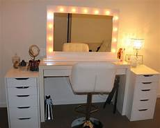 Vanity Table Set With Lights Rogue Hair Extensions Ikea Makeup Vanity Amp Hollywood Lights