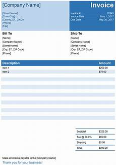 Computer Invoice Format In Word Invoice Template For Word Free Simple Invoice