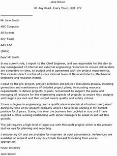 Engineer Cover Letters Engineering Manager Cover Letter Example Learnist Org
