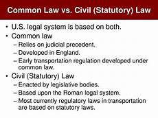 Common Law Vs Civil Law Ppt Transportation Regulation Amp Public Policy Powerpoint