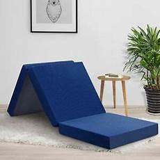 tri fold mattress memory foam guest pad cing 4 inch