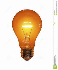 Orange Filament Light Bulb Orange Light Bulb Stock Image Image Of Idea Glass