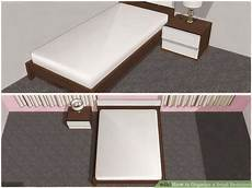 How To Organize A Small Bedroom 4 Ways To Organize A Small Bedroom Wikihow