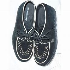 Underground Creepers Size Chart Black Suede Underground Creepers Size 7 Underground