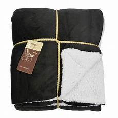 napa soft micro mink fleece sherpa bed throw tv