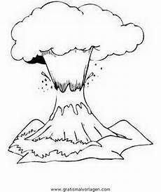 Vulkan Malvorlagen Gratis Vulkan 02 Gratis Malvorlage In Diverse Malvorlagen
