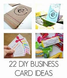 Home Made Buisness Cards Diy Business Cards C R A F T