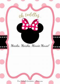 Minnie Mouse Invitation Template Free Free Minnie Mouse Head Invitation Templates Free
