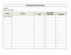 Booking Schedule Template Meeting Room Reservation Sheet Download This Meeting