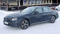 2020 mercedes e class 2020 mercedes e class sedan spied inside and out