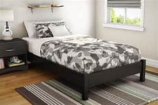 south shore step one platform bed 39 quot in black
