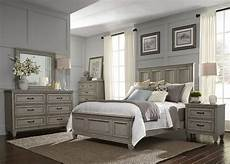 How To Place Furniture In A Small Bedroom Grayton Grove Driftwood Panel Bedroom Set From Liberty