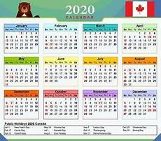 2020 Calendar Canada 2020 Magnetic Calendar Canada With Public Holidays Ebay