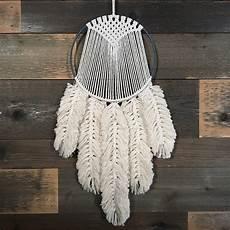macrame feathers macrame feather tutorial etsy