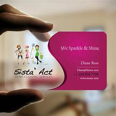 Business Cards For Cleaning Services Create A Unique Business Card For 3 Sisters Cleaning