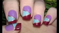 Easy Step By Step Toenail Designs Diy Mosaic Nails Without Tools Easy Nail Art Designs