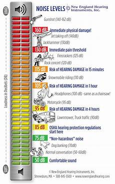 Noise Chart Dba 55 Best Learn More About Hearing Loss Images On Pinterest