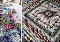 patchwork motif crochet patchwork afghan free pattern your