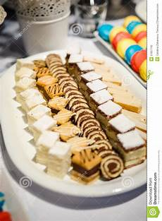 variety of finger food desserts stock photo image of