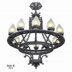 12 Light Wrought Iron Chandelier Large 12 Light Chandelier Antique Cast Amp Wrought Iron