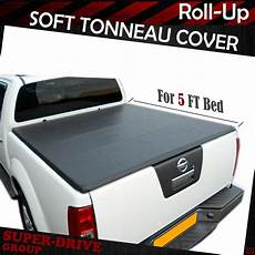 premium lock roll up tonneau cover for 2005 2019 nissan