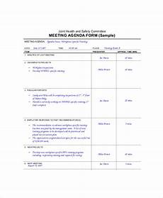 Microsoft Meeting Minutes Template Microsoft Meeting Agenda Template 10 Free Word Pdf