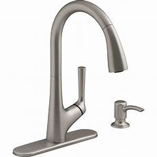 Kohler Kitchen Faucet Kohler Elmbrook Single Handle Pull Sprayer Kitchen