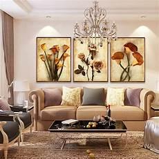 frameless canvas painting flower painting design
