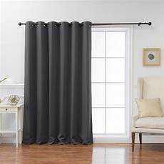 Curtain Images Best Home Fashion Wide Basic 80 In W X 84 In L Blackout