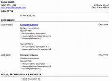 Create A Simple Resume 25 Free Html Resume Templates For Your Successful Online