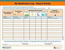 Excel Pills Medication Schedule Medication Log Medication List