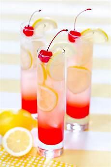 cherry lemonade drink perfect summer drink pizzazzerie