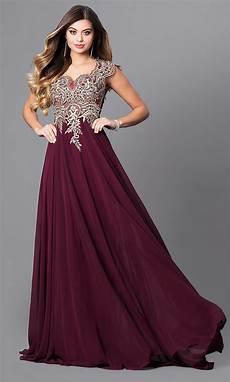 sleeve formal dress free cap sleeve elizabeth k prom dress promgirl