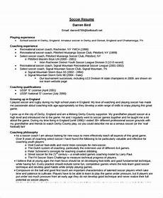 Soccer Coach Resume Coach Resume Template 8 Free Word Pdf Document