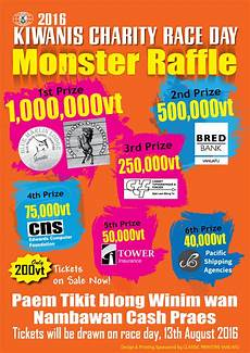 Raffle Ticket Poster Ideas 2016 Kiwanis Charity Race Week Is Just Around The Corner
