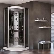cabina doccia tonda cabina doccia idromassaggio semicircolare eklis 90 x 90 cm