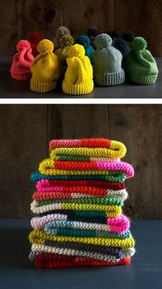 weihnachtsgeschenke stricken knitted diy projects for gifts