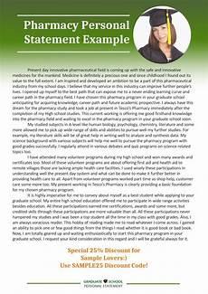 Pharmacy Essays Get Graduate School Pharmacy Personal Statement Example