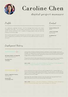 Sample Of A Cv Format 13 Slick And Highly Professional Cv Templates Guru