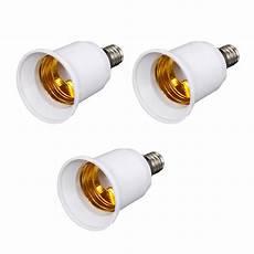 Chandelier Replacement Light Bulb Sockets 3 Pcs E12 To E27 Adapter Chandelier Light Socket Medium