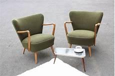retro sessel 50er vintage sessel 2 cocktailsessel club sessel lounge gr 252 n