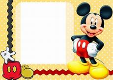 Mickey Mouse Birthday Invites 25 Incredible Mickey Mouse Birthday Invitations