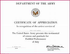 Officer Promotion Certificate Template 6 Army Enlisted Promotion Certificate Template 83281
