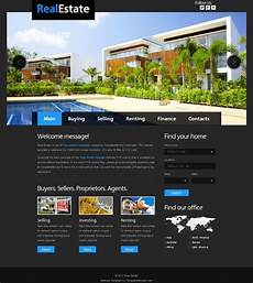 Sample Templates For Website Free Website Template For Real Estate With Justslider