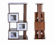 Modern Cat Modern Cat Tree From Pawhut Offers Great Style At An